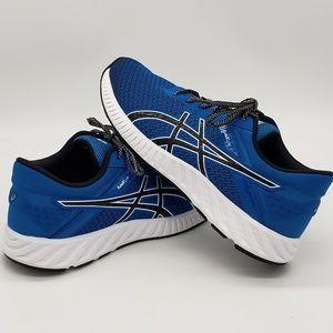 Asic FuzeX Lyte Running Shoes Blue Black 8.5 Mens
